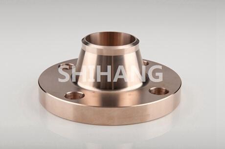 copper nickel weld neck flange