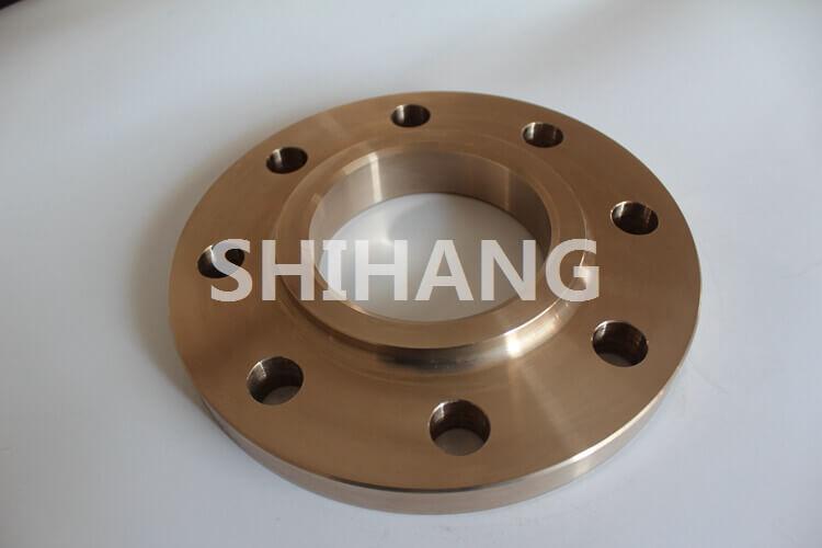 Copper nickel slip on flange