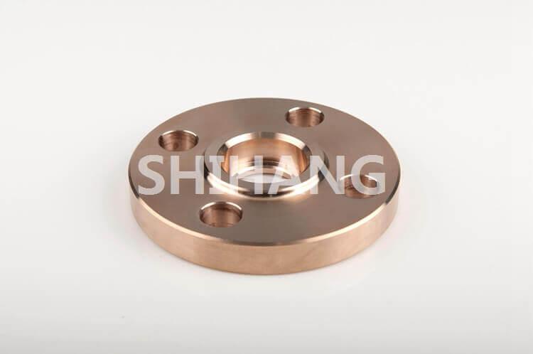 Copper nickel socket weld neck flange