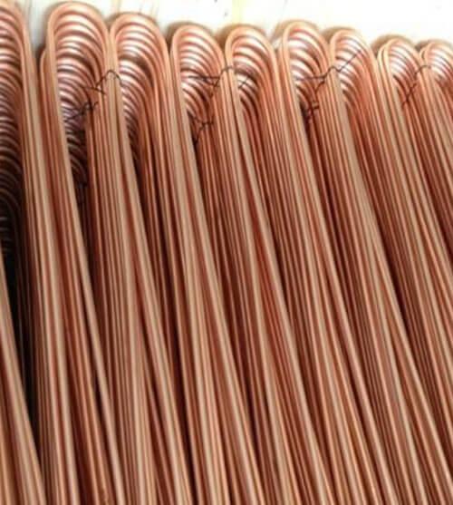 Copper nickel tube heat exchanger