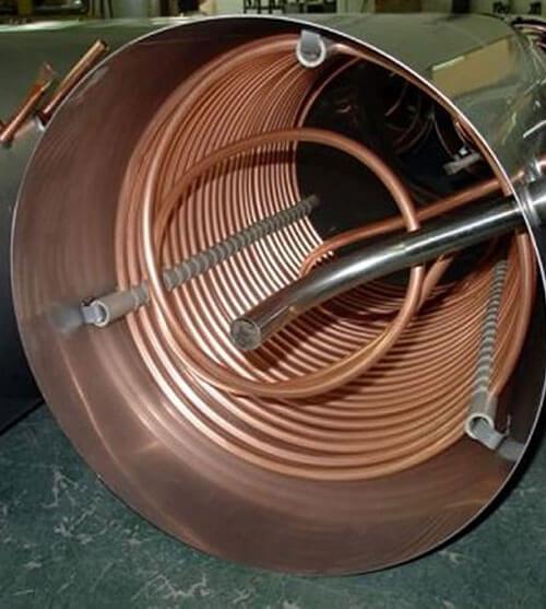 Copper nickel heat exchanger tubes
