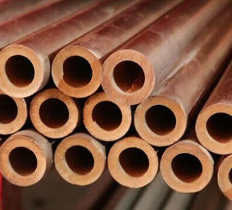 Round copper nickel tubes