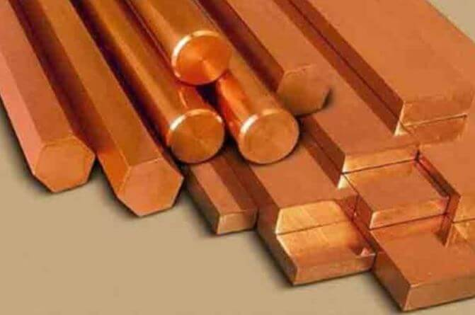 Types of copper nickel bar