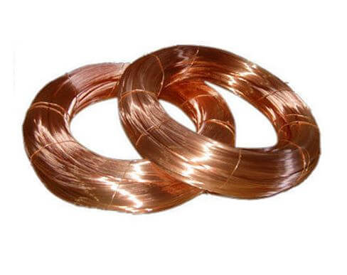 Copper nickel filler wire