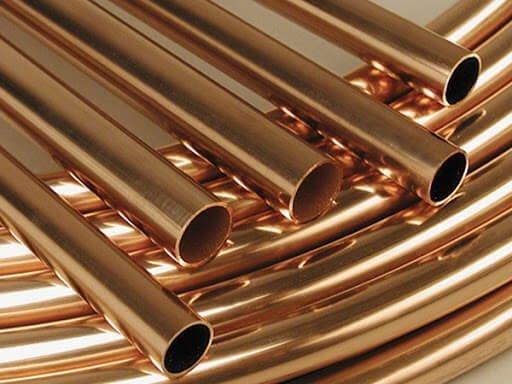 Plain copper nickel tube